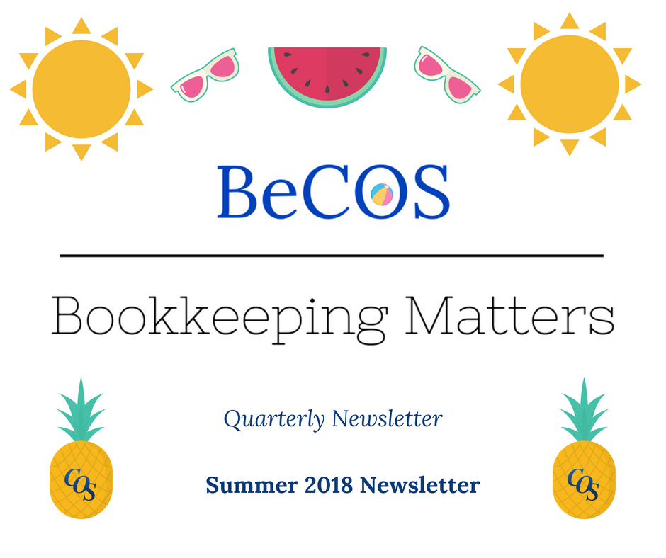 Quarterly Newsletter - Summer