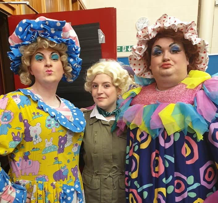 Becky-Luke-and-Jamie-Pantomime